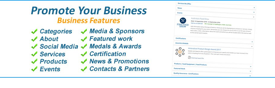 Business Features Available
